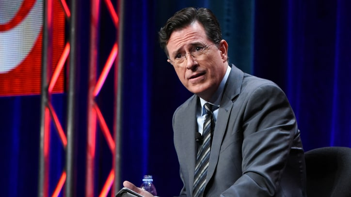 Colbert Promises 'Female Perspective' Amid Late-Night 'Sausage Fest'