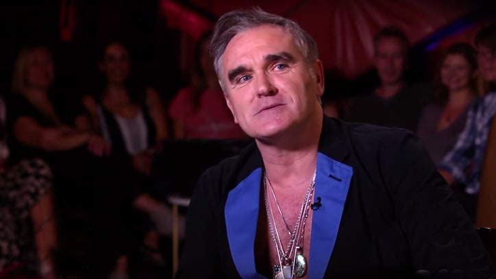 Morrissey Talks Trump, Cancer Diagnosis, TSA Groping With Larry King