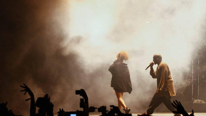 Kanye West Brings Out Rihanna, Travis Scott at FYF Fest