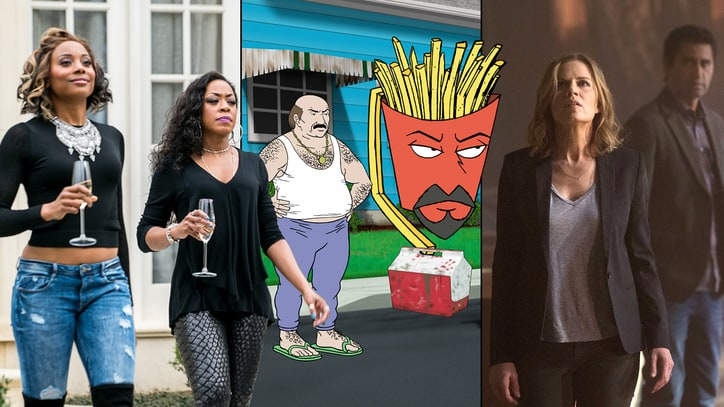 Top 5 TV: Hello, 'Fear the Walking Dead,' Goodbye 'Aqua Teen Hunger Force'