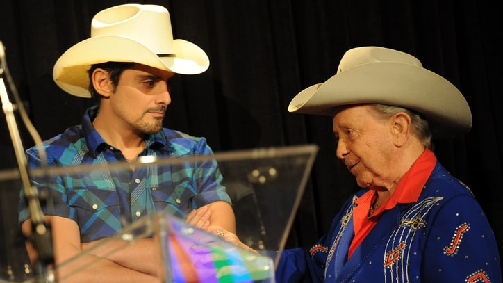 Flashback: See Brad Paisley Rededicate the Opry Stage