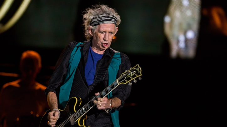 Keith Richards Talks First Solo LP in 23 Years: 'Time Flies!'
