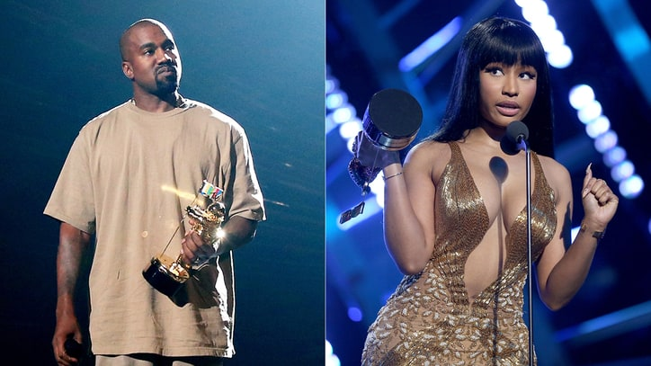 Beef, Bombast and Kanye West Reign at Wild MTV Video Music Awards