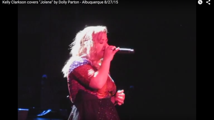 Watch Kelly Clarkson Put Soulful Spin on Dolly Parton's 'Jolene'