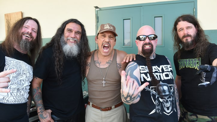 Watch Slayer and Danny Trejo Film Gore-Drenched Video at L.A. Prison