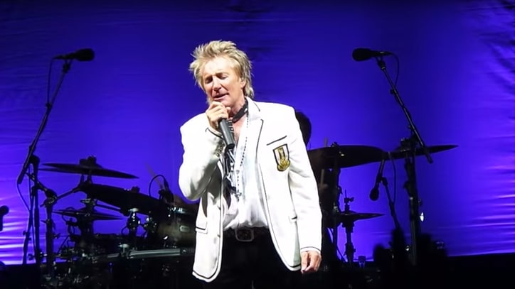 Watch Rod Stewart Reunite With Faces at Benefit Gig