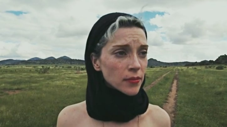 Watch St. Vincent Ramble Through Texas, Warble National Anthem