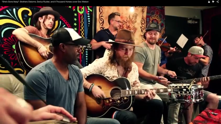 See Darius Rucker and Tourmates Go Old-School With Doc Watson Cover