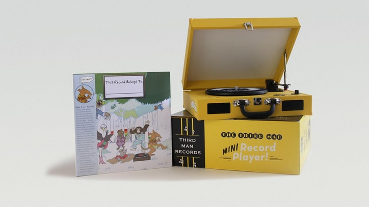 Jack White's Third Man Records Preps Kids' Turntable, Compilation