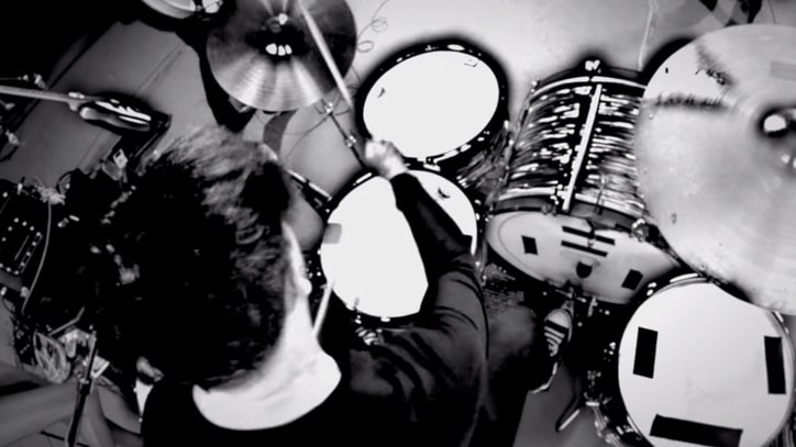 Jack White Details Dead Weather Drumming Technique, Custom Kit