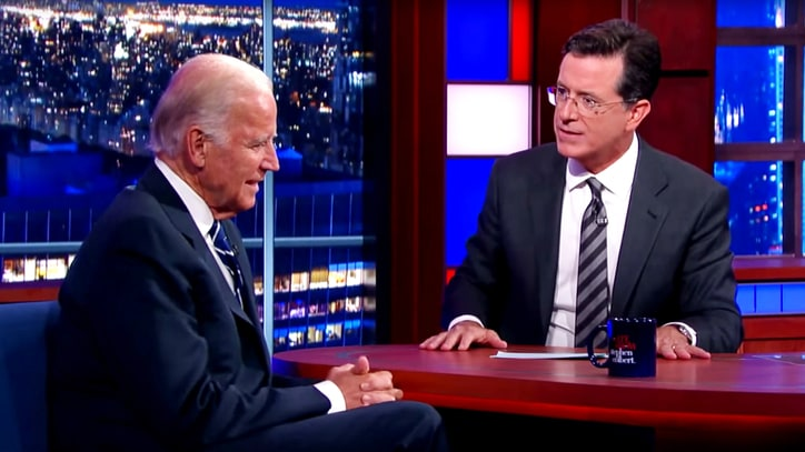 Joe Biden Talks Tragedy, Future in Emotional 'Late Show' Interview