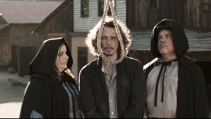 Watch Chris Cornell Survive Wild West Hanging in New Video
