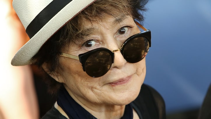 Yoko Ono Plans Largest Human Peace Sign for John Lennon's 75th Birthday