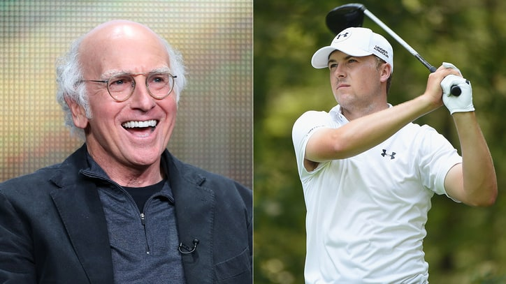 Larry David Predicts Jordan Spieth's Future: 'He's Going to be Wildly Bald'