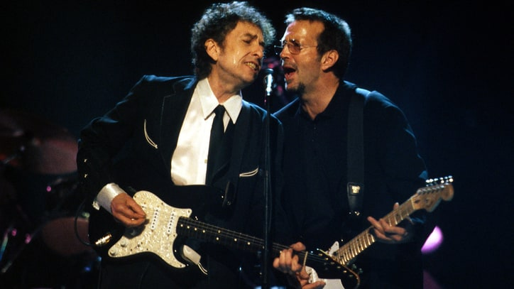 Flashback: Bob Dylan and Eric Clapton Sing 'Don't Think Twice, It's All Right'