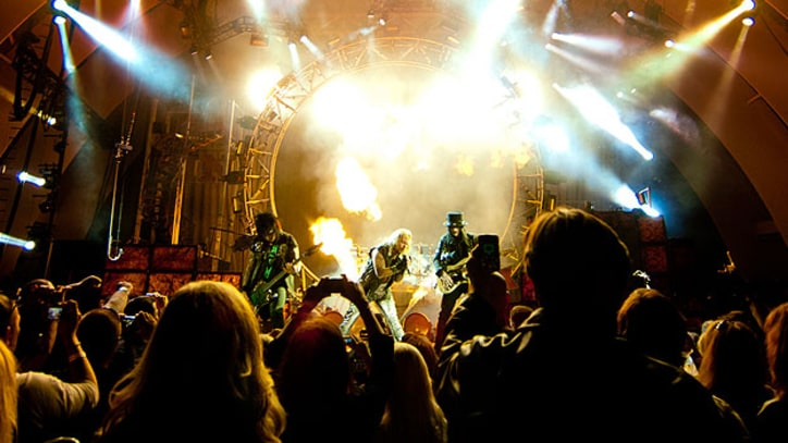 Pyrotechnics, Power Ballads and Girls in Bikinis: Motley Crue Rock the Hollywood Bowl