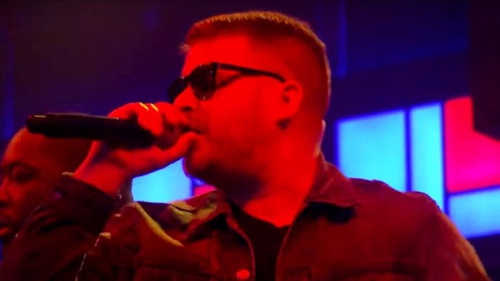 Watch Run the Jewels, TV on the Radio Team on 'Angel Duster'