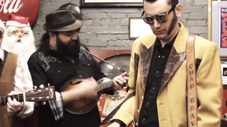 See the HillBenders' Bluegrass Jam on the Who's 'Sparks'