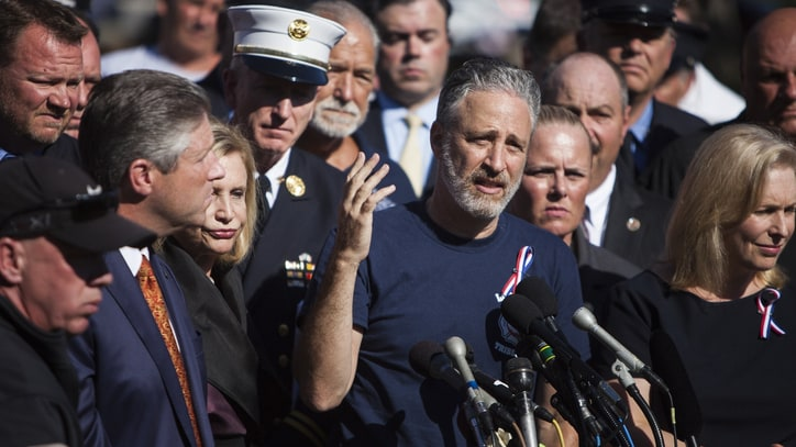 Jon Stewart Presses Congress to Extend 9/11 Rescue Benefits