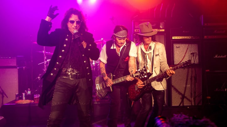 Johnny Depp, Alice Cooper and Co. Raise Dead at Hollywood Vampires' Debut