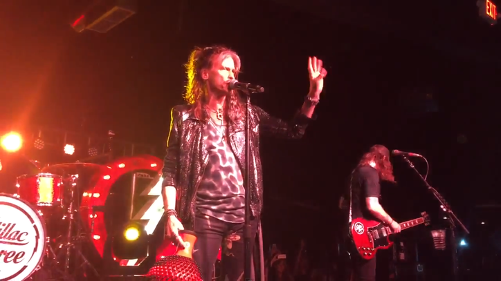 See Steven Tyler Join the Cadillac Three for 'Sweet Emotion'