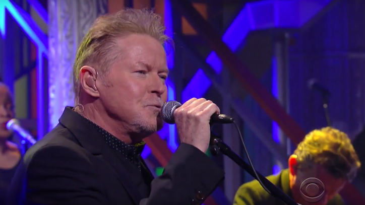 See Don Henley Lambaste Donald Trump in 'Colbert' Performance
