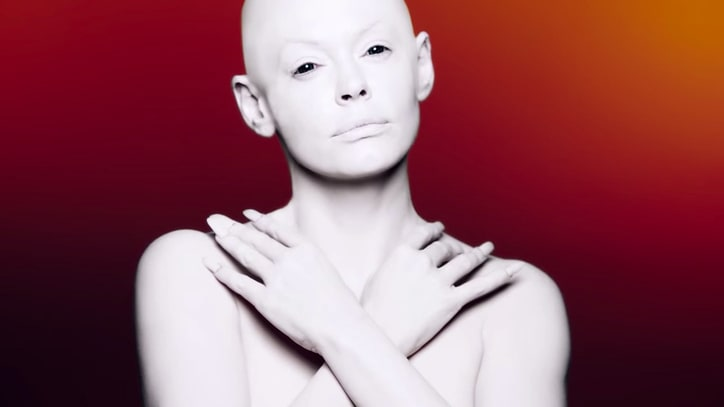 Rose McGowan on Her Unsettling New Music Video: 'I'm Not a Commodity'
