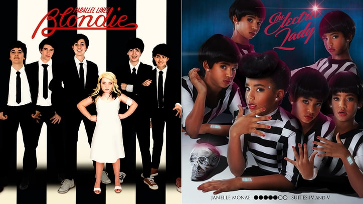 Blondie, Janelle Monae Album Covers Recreated by Girls Rock Campers