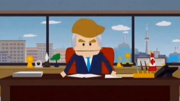 'South Park' Murders 'Brash A--hole' Donald Trump