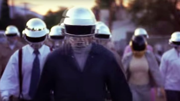 Watch Kanye West, Pharrell Praise Daft Punk in Doc Trailer