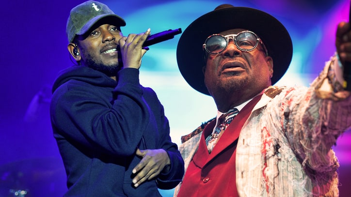 Hear Kendrick Lamar's Fiery Verse on Funkadelic Remix