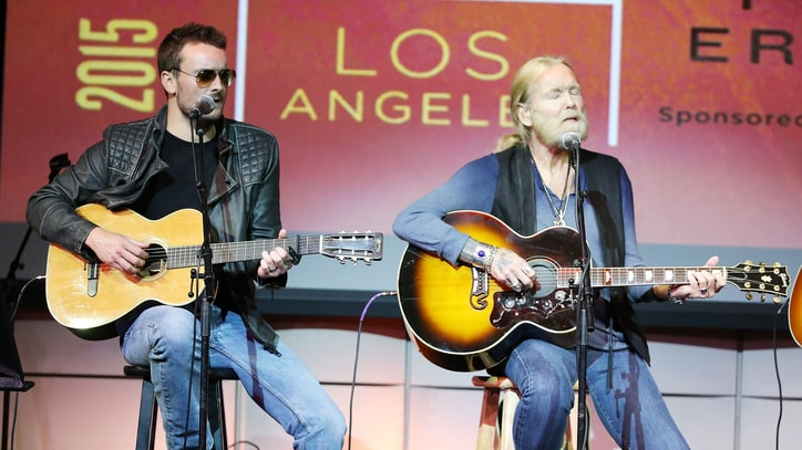Eric Church Joins Gregg Allman for Q&A, 'Midnight Rider'
