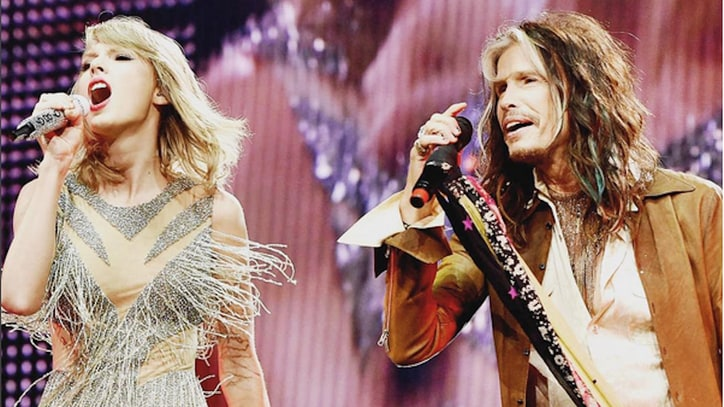 Watch Taylor Swift, Steven Tyler Perform 'I Don't Want to Miss a Thing' in Nashville
