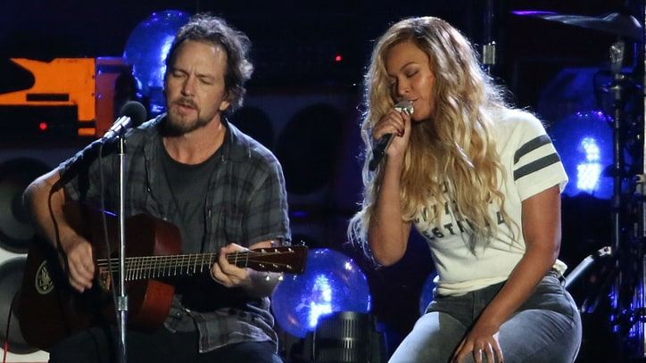Watch Eddie Vedder, Beyonce Duet on Bob Marley's 'Redemption Song'