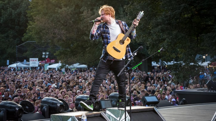 Go Behind the Scenes With Ed Sheeran at Global Citizen Fest