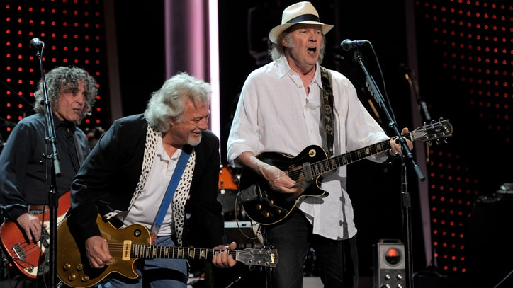 Flashback: Neil Young and Crazy Horse Play Raucous Beatles Cover in 2012