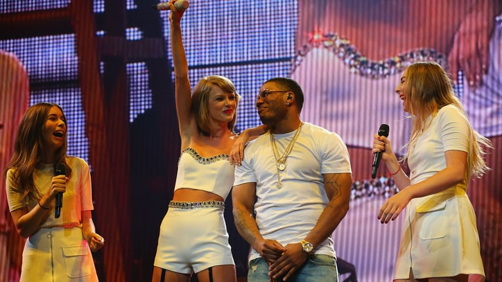 Watch Taylor Swift, Nelly and Haim Perform 'Hot in Herre' in St. Louis