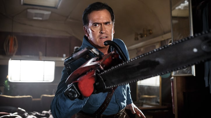 'Ash vs. Evil Dead': Bruce Campbell Talks Bloody Return