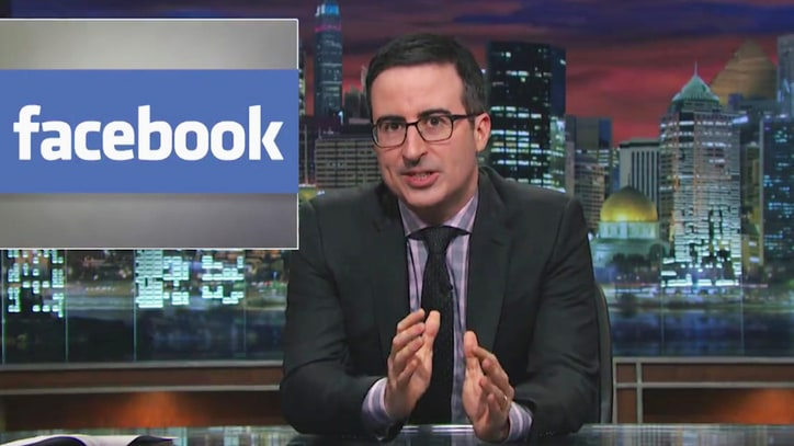 Watch John Oliver Dismiss Facebook Privacy Hoax in New Video