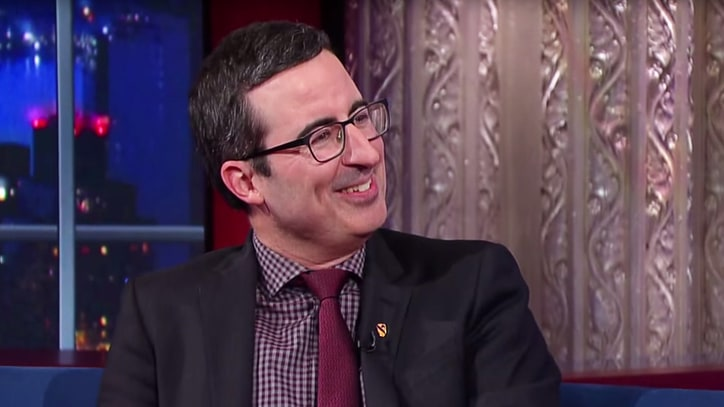 John Oliver on Donald Trump: 'I Couldn't Give Less of a S--t'