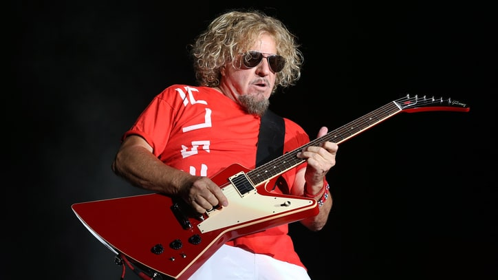 Sammy Hagar's Next Chapter: Writing a 'Lifestyle Cookbook'