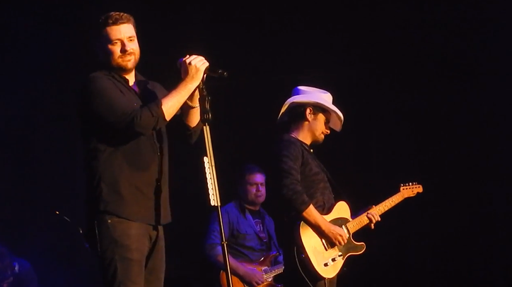 Watch Chris Young, Brad Paisley Cover Clapton's 'Change the World'
