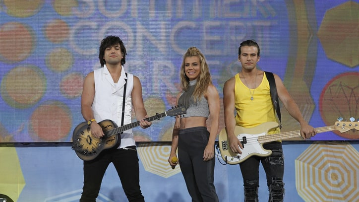 Watch the Band Perry Bring Colorful 'Live Forever' to 'Ellen'