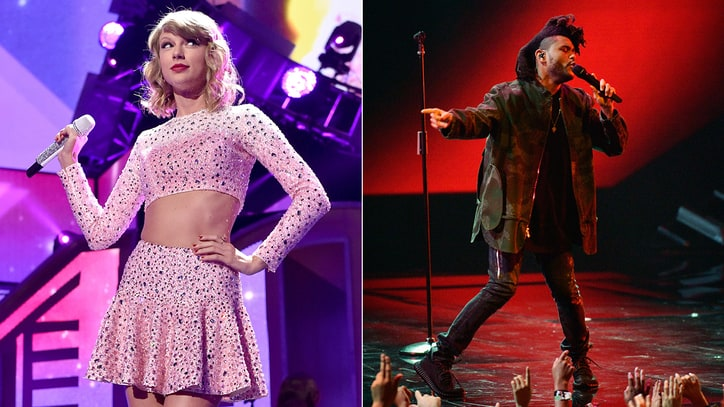 Taylor Swift, Ed Sheeran, the Weeknd Top AMA Nominations