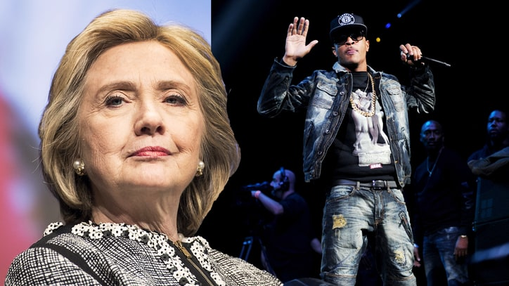 T.I. Apologizes for 'Unequivocally Insensitive' Hillary Clinton Remark