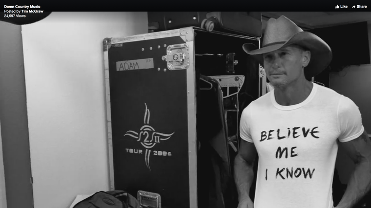 See Tim McGraw's Reflective 'Damn Country Music' Video