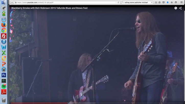 See Blackberry Smoke Duet With Black Crowes' Rich Robinson