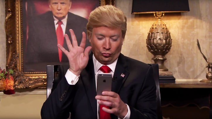 'Donald Trump' Bemoans Dems' 'Hugely Boring' Debate on 'Fallon'