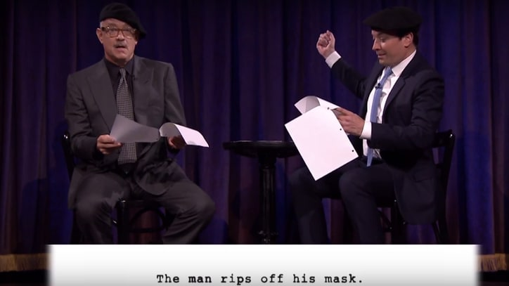 Watch Tom Hanks Perform 'Kid Theater' 'Bridge of Spies' on 'Fallon'