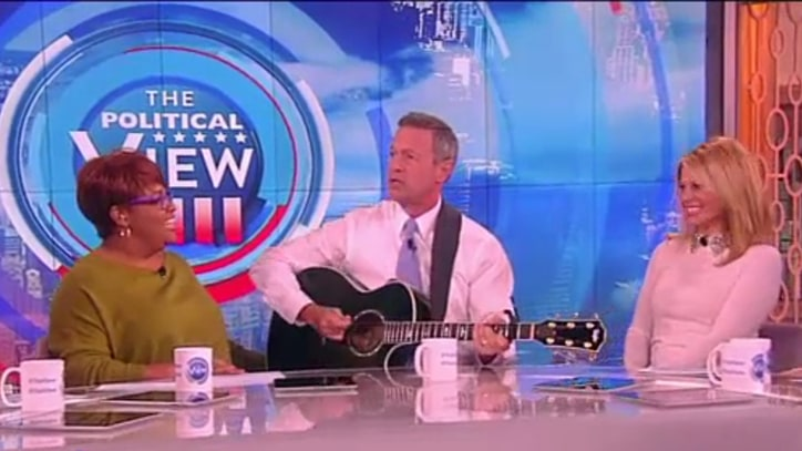 Watch Martin O'Malley Sing Taylor Swift's 'Bad Blood' on 'The View'